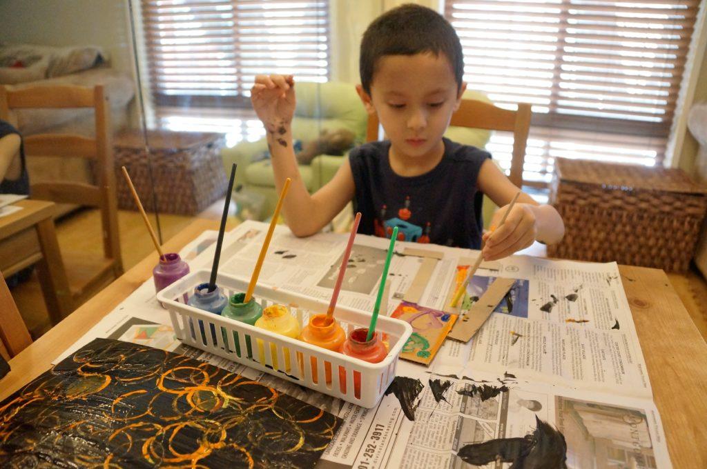 The Painterly Path Children's art activities