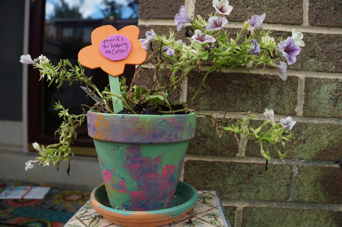 The Painterly Path & Painted Flower Pot Gifts for Young Artists to Create - The ...