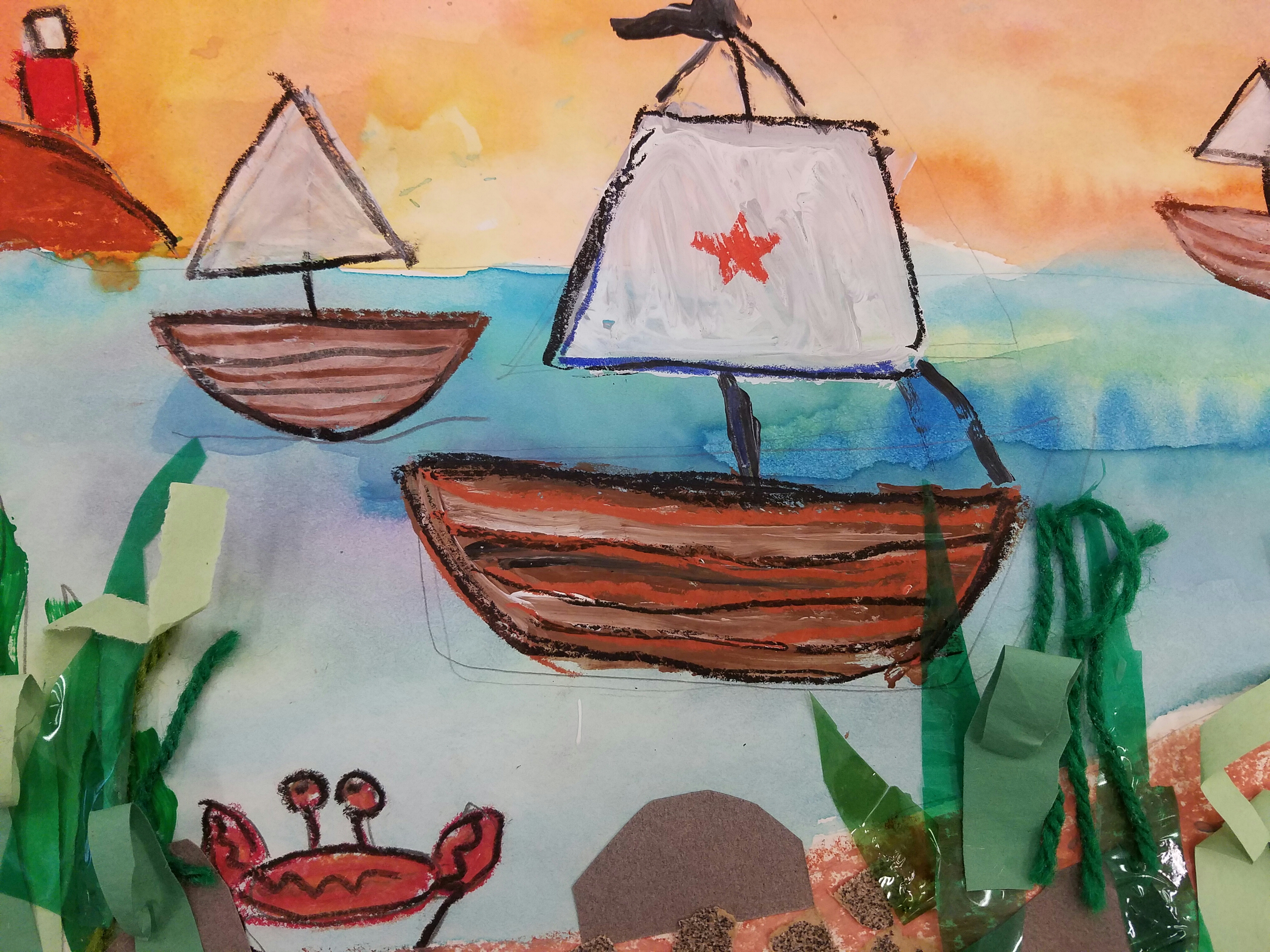Inspire Your Young Artist to Create a Seascape Painting for ...