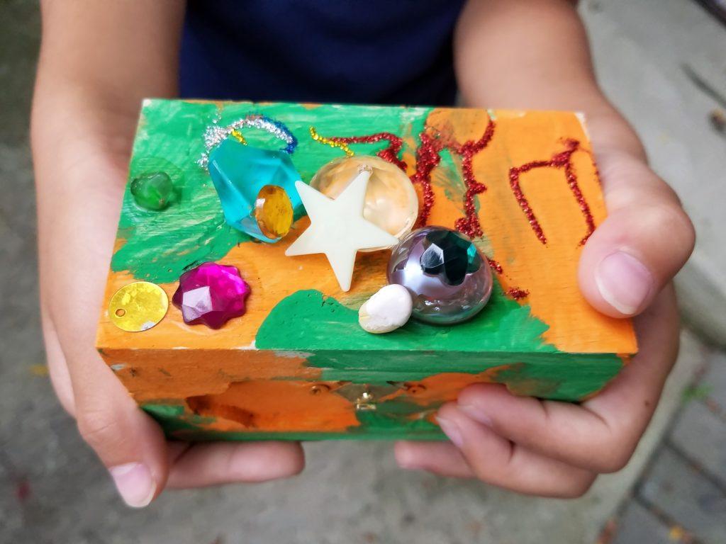 kid's keepsake box