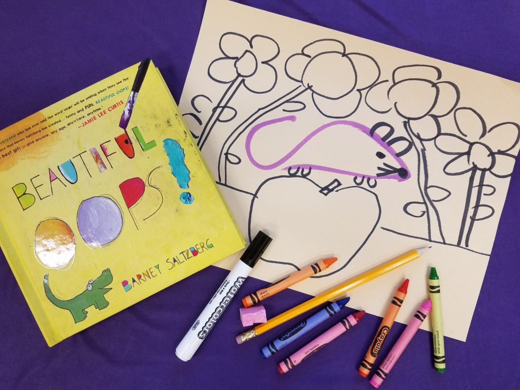 Creativity Exercises To Get Kids Started Drawing Inspired By The Beautiful Oops Barney
