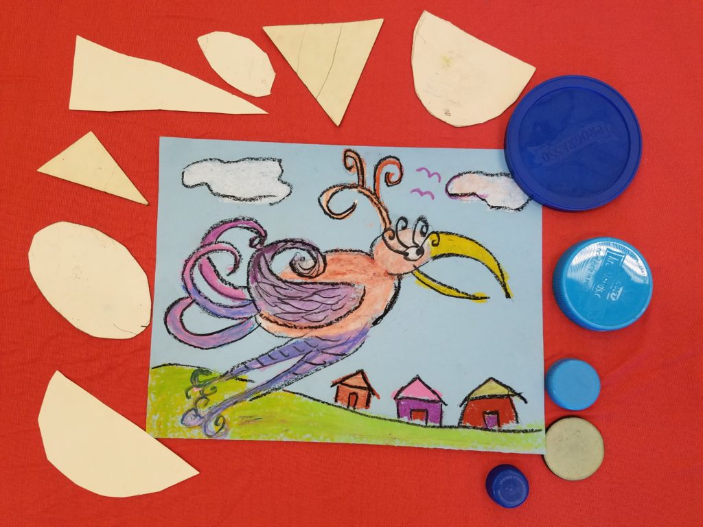 Creative Drawing Ideas For Kids Use Shape Tracers To Get A Started
