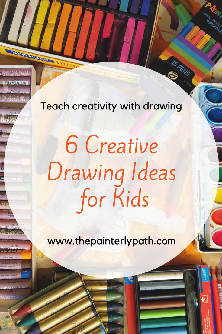 Creative Fun For All Ages With Easy Diy Wall Art Projects: 6 Creative Drawing Ideas For Kids